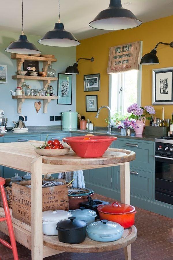 Algo nuevo, algo viejo y algo turquesa para diseñar una cocina 3