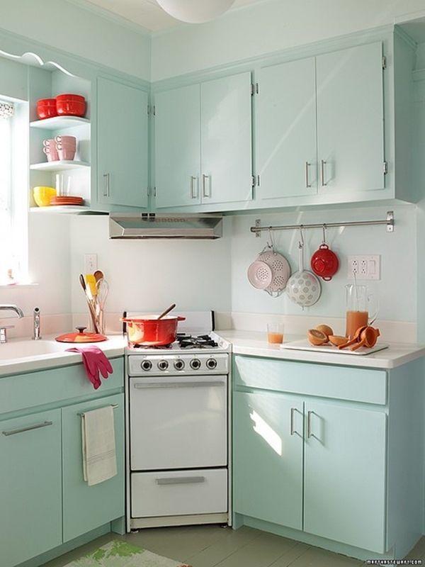 Algo nuevo, algo viejo y algo turquesa para diseñar una cocina 4