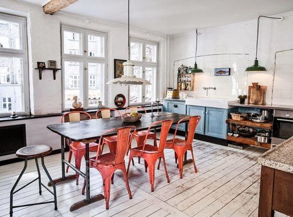Algo nuevo, algo viejo y algo turquesa para diseñar una cocina 5