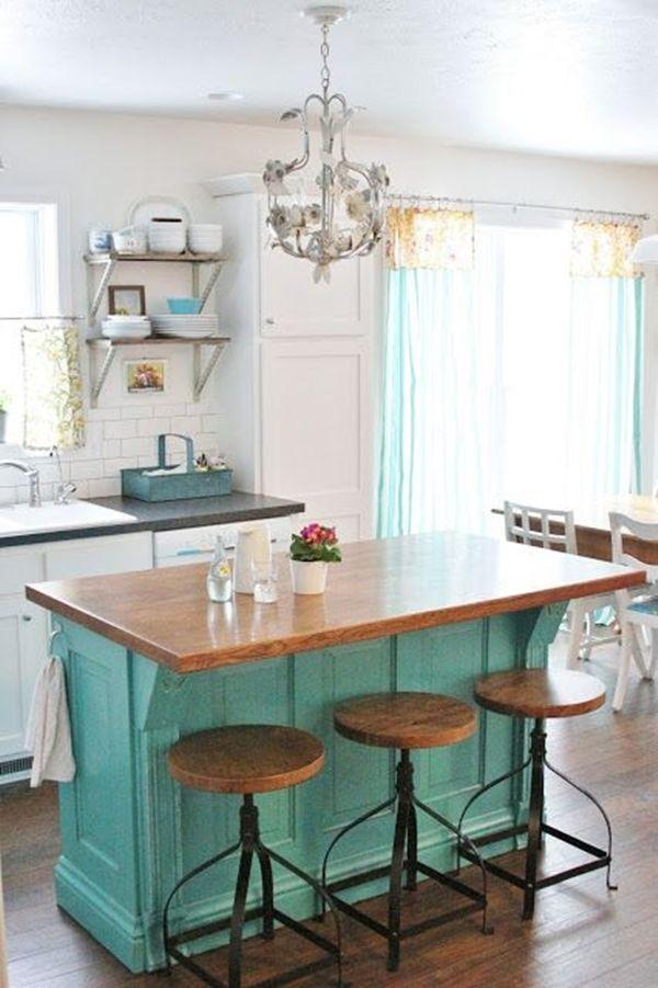 Cocinas con islas a partir de muebles reciclados cocinas for Cocinas con muebles