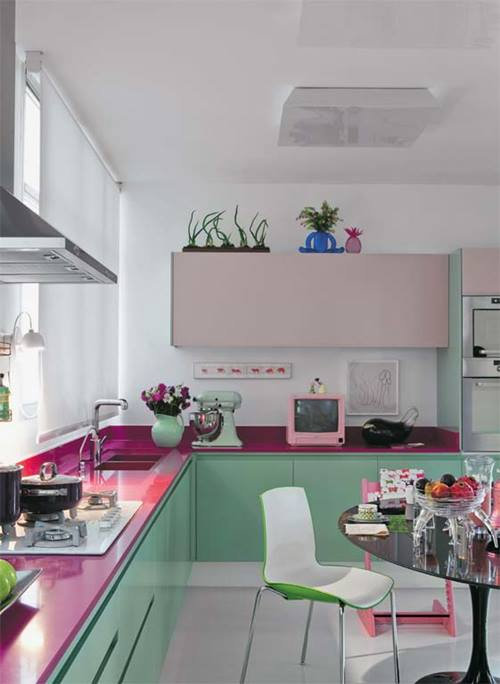 Cocinas en L también pueden ser cocinas singulares 1
