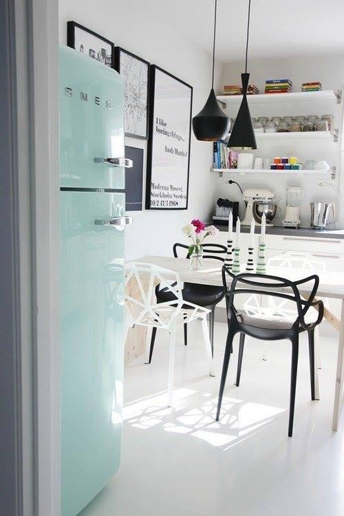Frigoríficos Smeg, el electrodoméstico retro de moda para cocinas con encanto 1