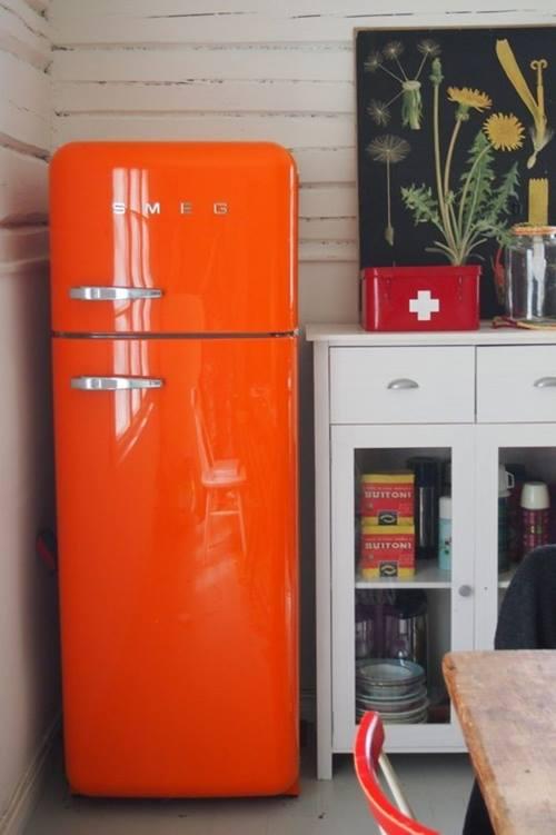 Frigoríficos Smeg, el electrodoméstico retro de moda para cocinas con encanto 2