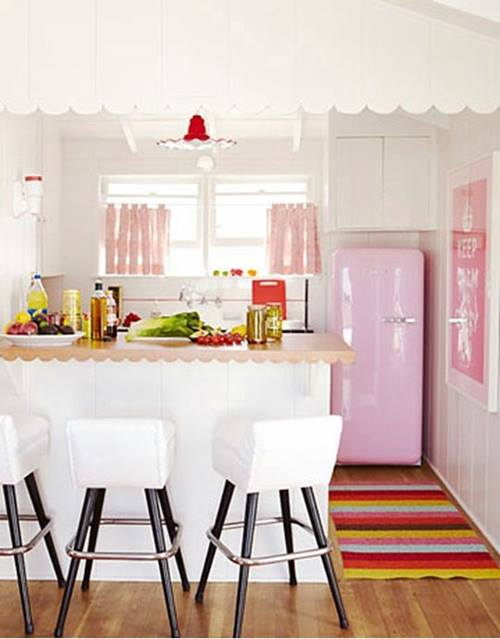 Frigoríficos Smeg, el electrodoméstico retro de moda para cocinas con encanto 3