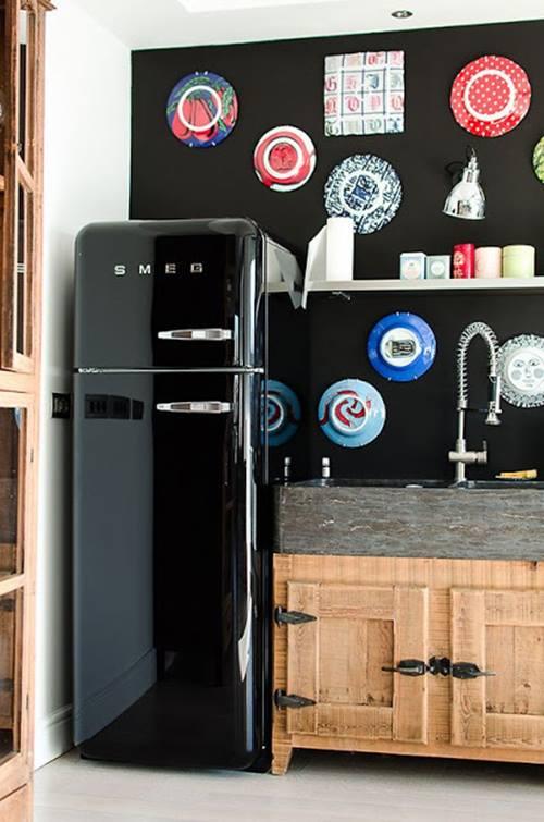 frigor ficos smeg el electrodom stico retro de moda para. Black Bedroom Furniture Sets. Home Design Ideas