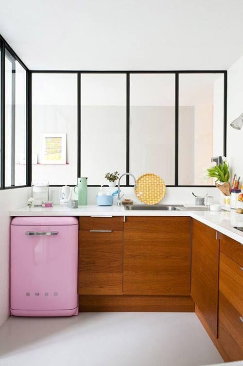 Frigoríficos Smeg, el electrodoméstico retro de moda para cocinas con encanto 5