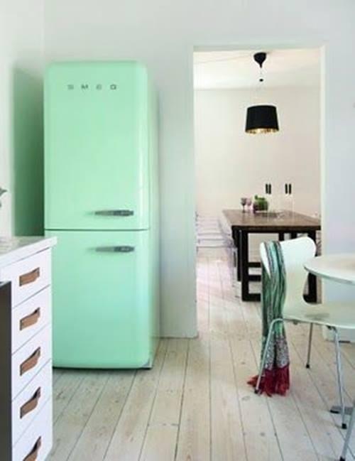 Frigoríficos Smeg, el electrodoméstico retro de moda para cocinas con encanto 7