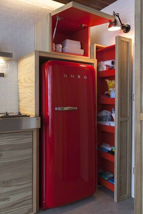Frigoríficos Smeg, el electrodoméstico retro de moda para cocinas con encanto 8