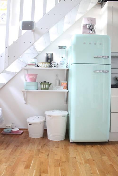 Frigoríficos Smeg, el electrodoméstico retro de moda para cocinas con encanto 9