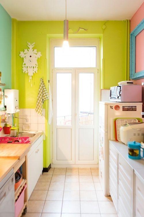 Idea para decorar una cocina pequeña 1