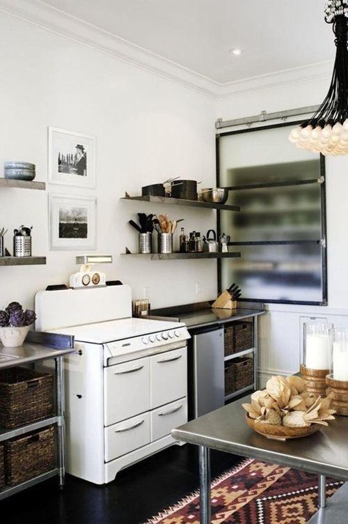 Im genes de cocinas de dise o industrial cocinas con encanto for Material cocina industrial