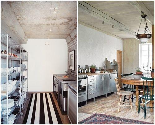 Im genes de cocinas de dise o industrial cocinas con encanto - Diseno cocina industrial ...