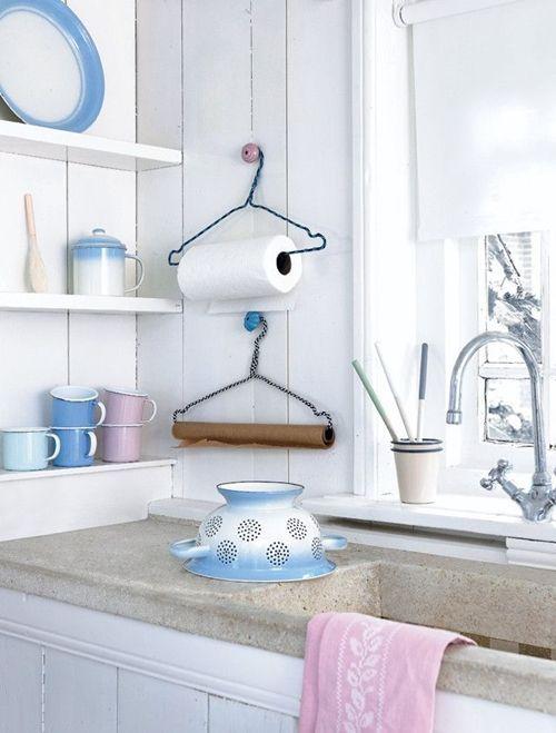 Nuevas manualidades para la cocina con ideas de reciclaje for Rivestire porte vecchie