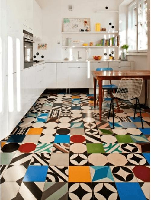 Suelos y azulejos para cocinas esto es tendencia... 1