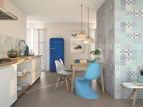 Suelos y azulejos para cocinas esto es tendencia - Azulejos de cocina modernos ...