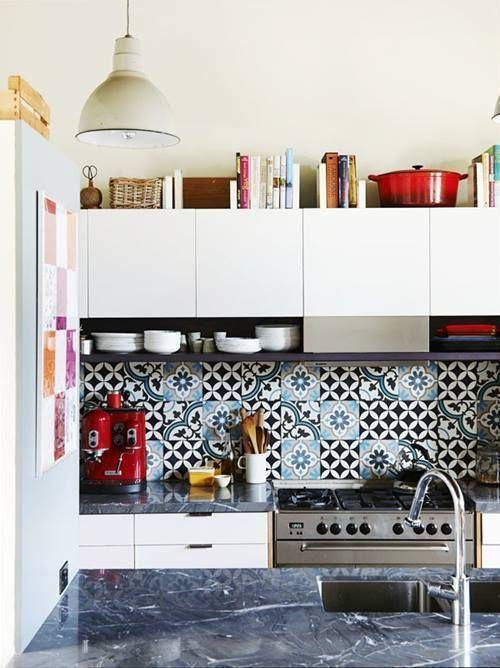 Suelos y azulejos para cocinas esto es tendencia for Azulejos ceramicos