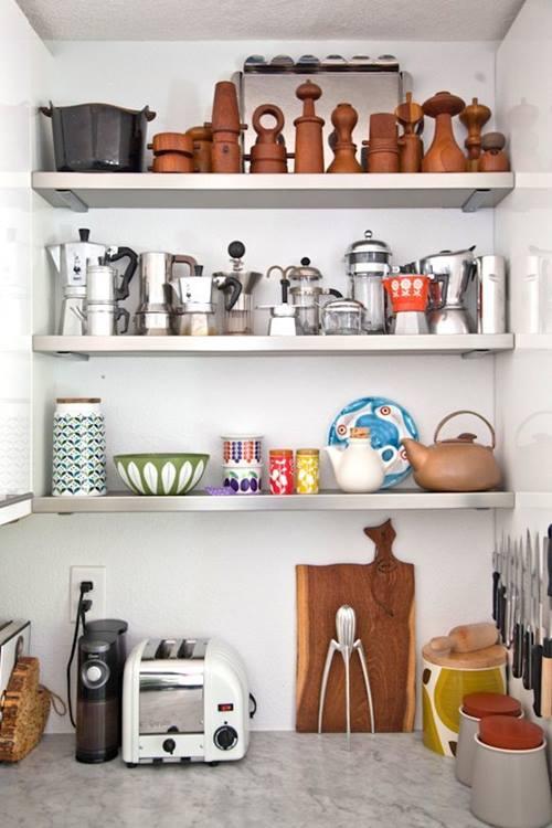 ¡Las estanterías de toda la vida vuelven a las cocinas! 1