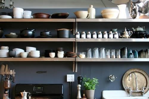 ¡Las estanterías de toda la vida vuelven a las cocinas! 4