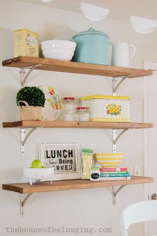 ¡Las estanterías de toda la vida vuelven a las cocinas! 6