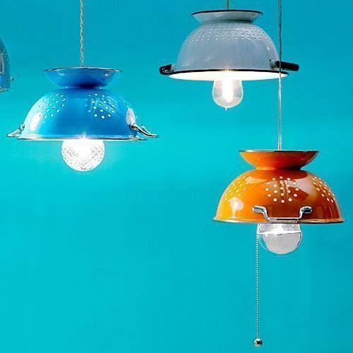 Como hacer una lampara de techo para la cocina 1