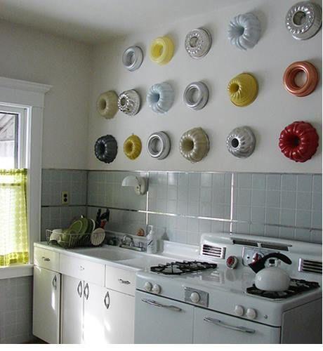 Decorar cocinas con encanto exponiendo colecciones 1
