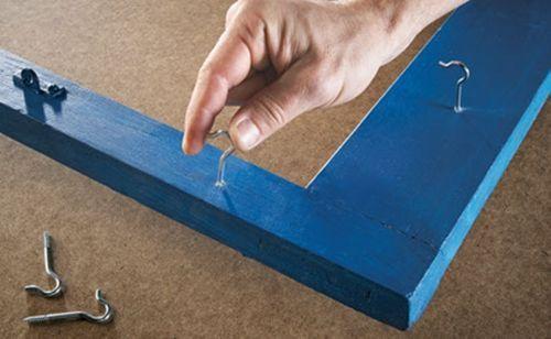 Idea de reciclaje colgador de utensilios para cocinas con isla 4