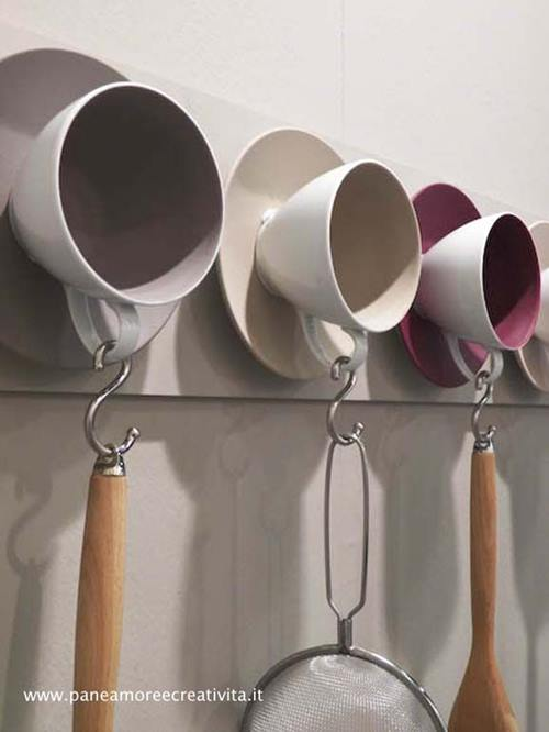 Manualidades para la cocina de reciclaje ¡decorativas y útiles! 1