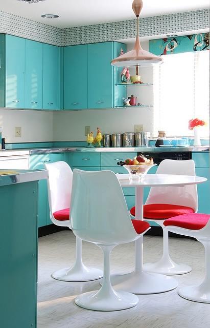 Mesas redondas de diseño para cocinas modernas | cocinas con encanto