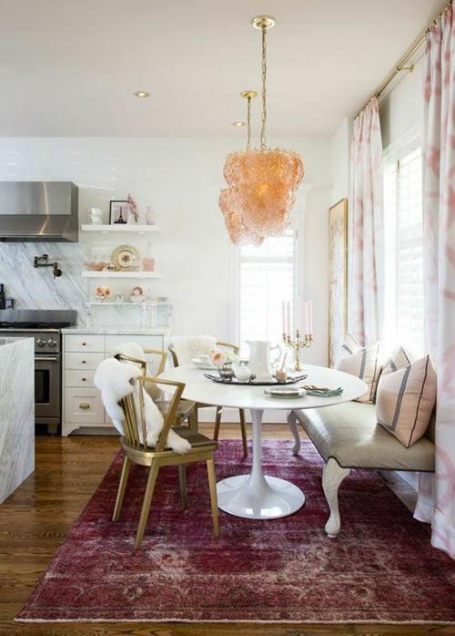 Mesas redondas de diseño para cocinas modernas 3