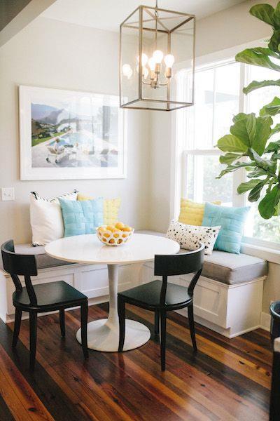 Mesas redondas de diseño para cocinas modernas - cocinas con encanto