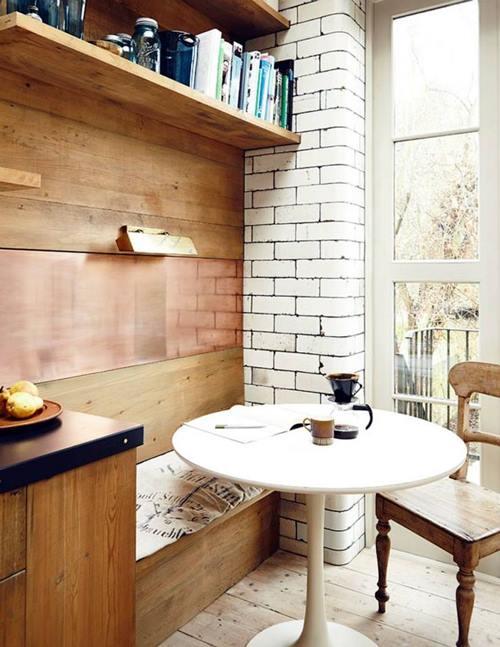 Mesas redondas de diseño para cocinas modernas 7