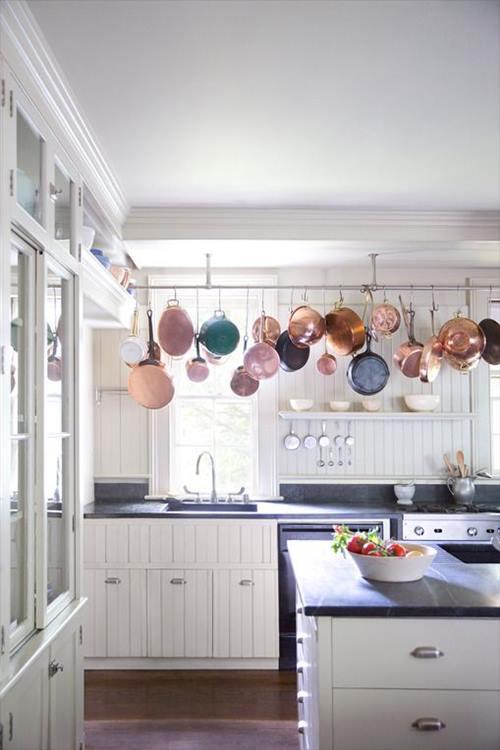 Momento coppertone (o cómo decorar cocinas con cobre) 1