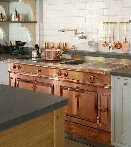 Momento coppertone (o cómo decorar cocinas con cobre) 2
