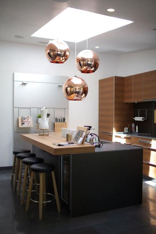 Momento coppertone (o cómo decorar cocinas con cobre) 6