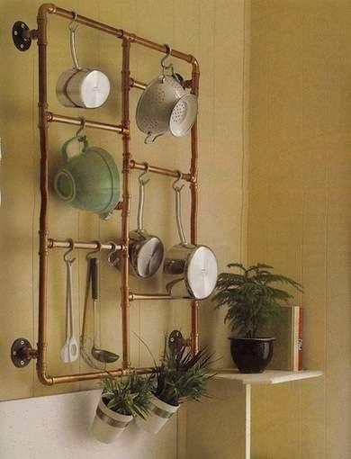 Momento coppertone (o cómo decorar cocinas con cobre) 7