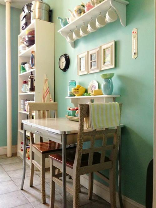 Las 10 mejores ideas de mesas para cocinas peque as for Idea de cocina de color topo