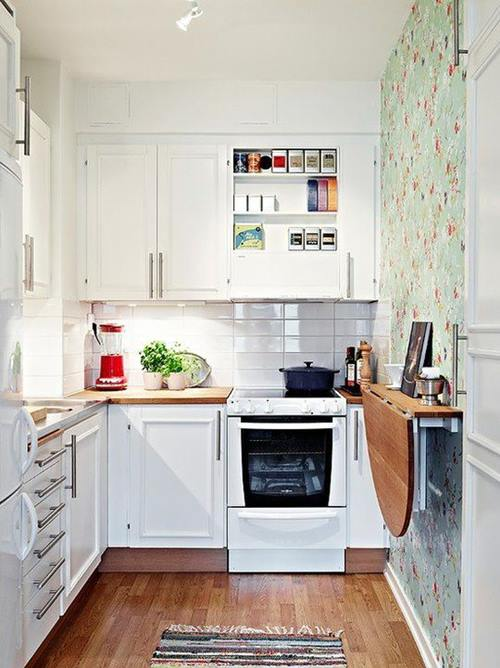 Las 10 mejores ideas de mesas para cocinas pequeñas 3
