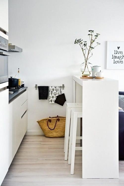 Las 10 mejores ideas de mesas para cocinas peque as - Mesas de cocina pequenas ikea ...