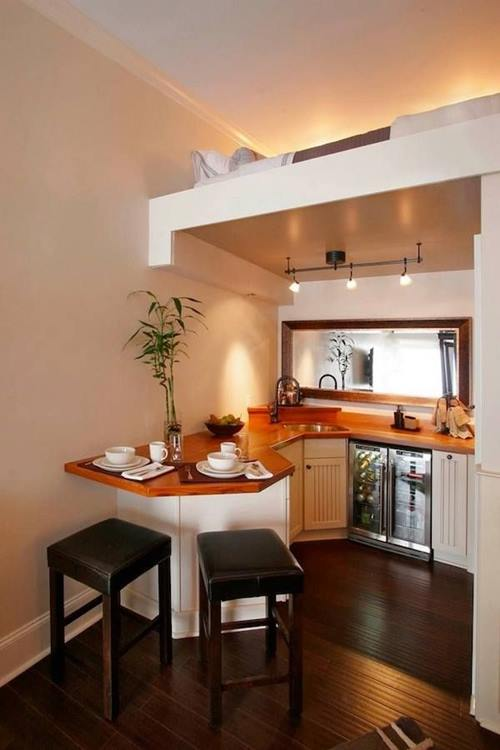 Las 10 mejores ideas de mesas para cocinas pequeñas 8