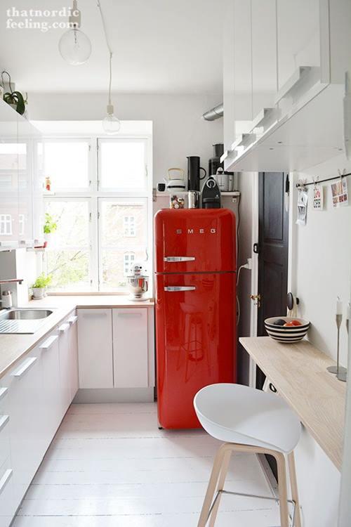 Las 10 mejores ideas de mesas para cocinas peque as for Laminas para decorar paredes de cocinas