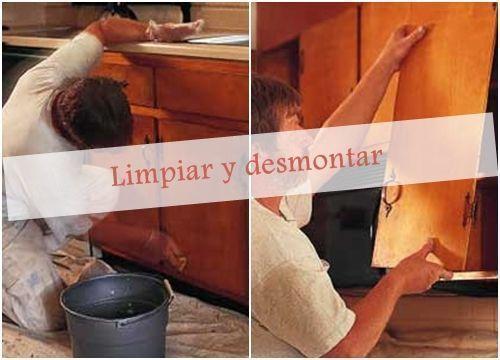 Pintar muebles de cocina con excelentes resultados 1