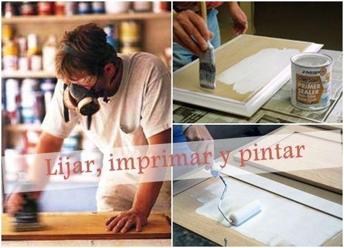 Pintar muebles de cocina con excelentes resultados 2