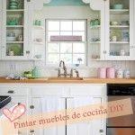 Pintar muebles de cocina con excelente resultado