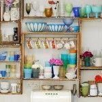 ¿Son prácticas las estanterías de cocina abiertas o sólo una moda pasajera…?