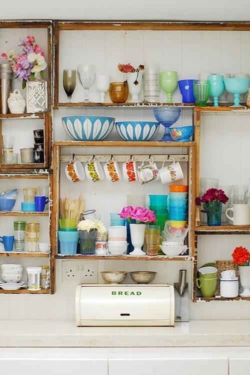 Son prácticas las estanterías de cocina abiertas o sólo una moda pasajera... 1