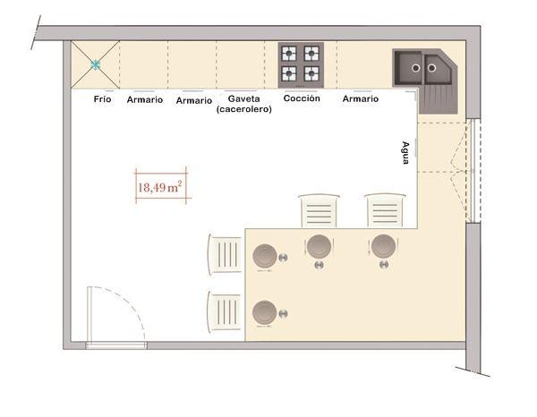 cocinas comedor con mesa integrada los consejos del arquitecto 33