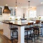 Cocinas comedor con mesa integrada: los consejos del arquitecto