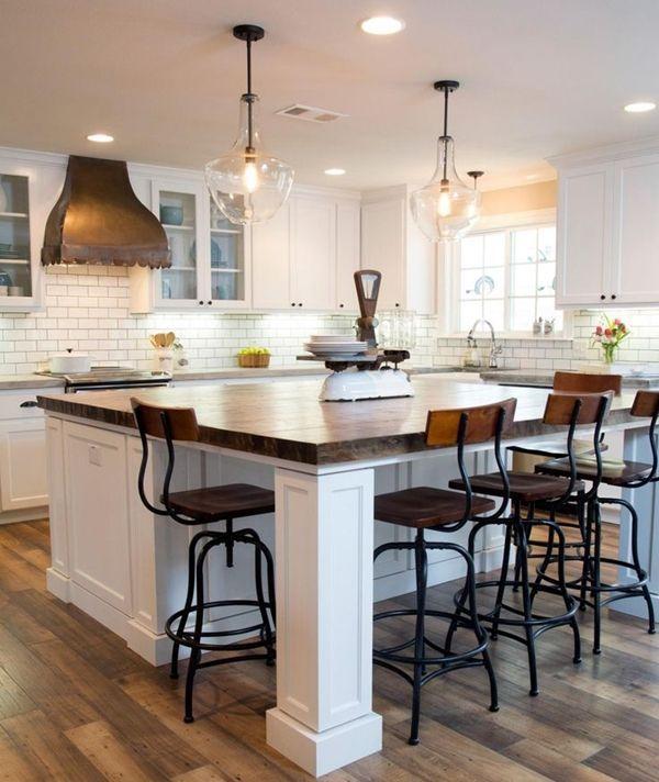 cocinas comedor con mesa integrada los consejos del