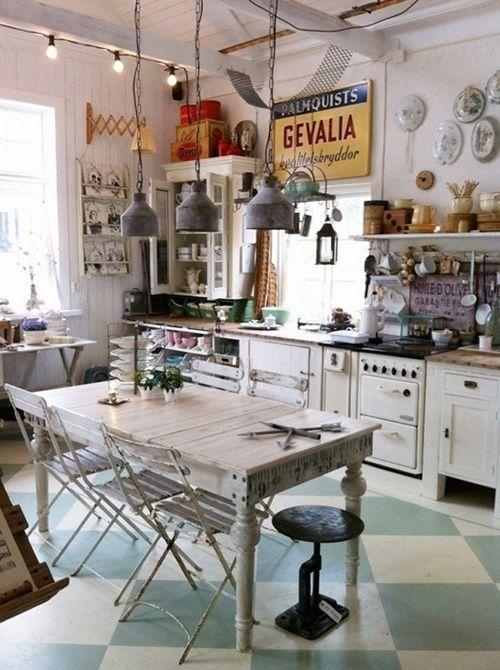 10 trucos para decorar cocinas r sticas cocinas con encanto for Islas de cocina rusticas