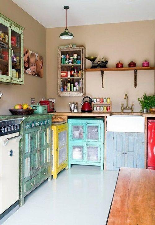 10 trucos para decorar cocinas rusticas 2